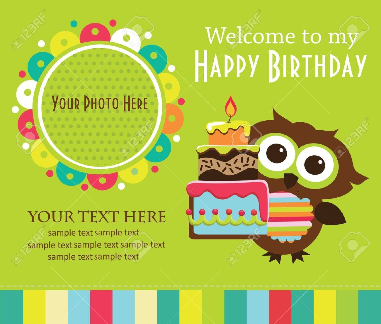Invitation cards for birthday party for kids stopboris Gallery