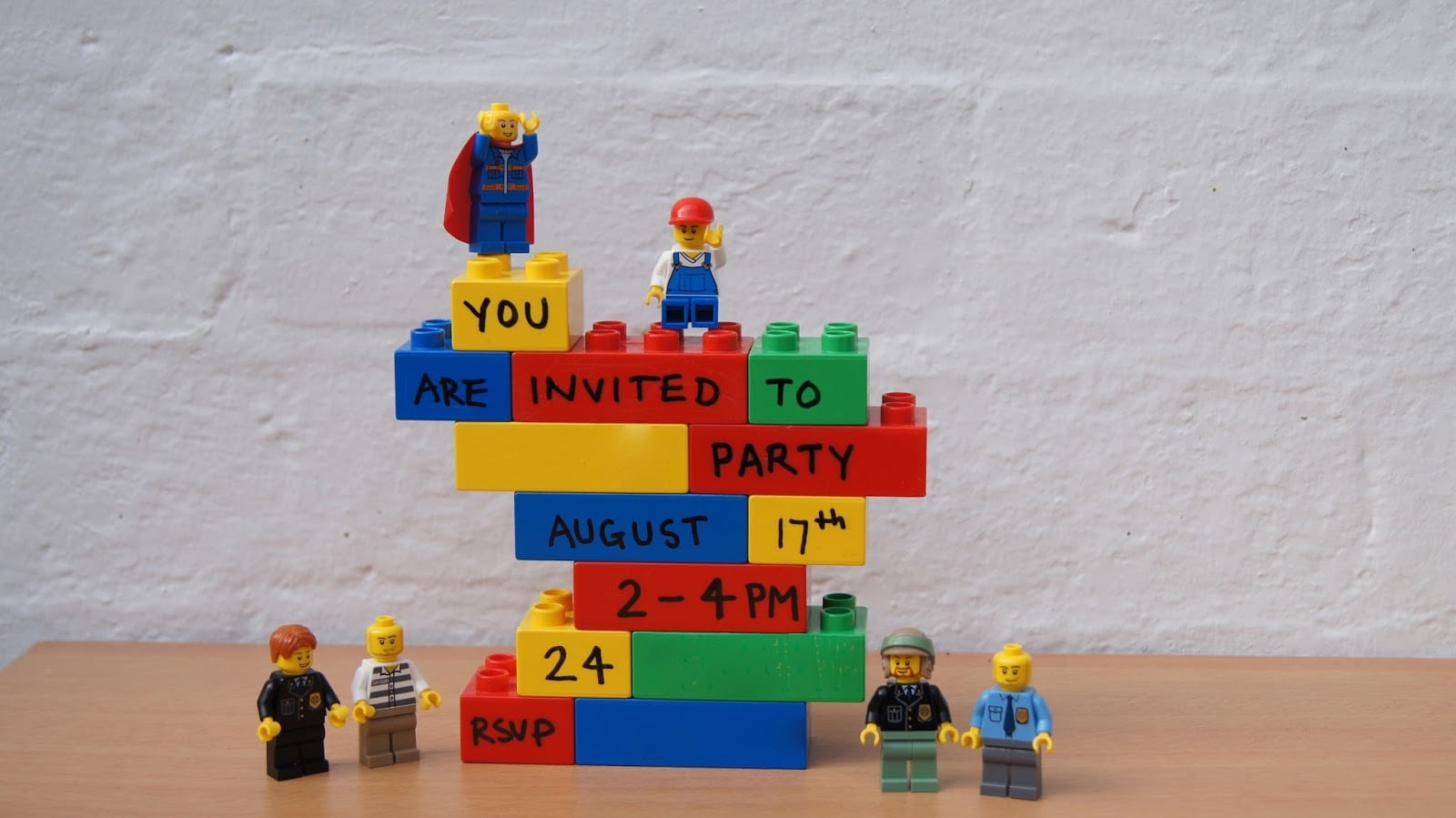 Lego Party Invitations – Gangcraft Net