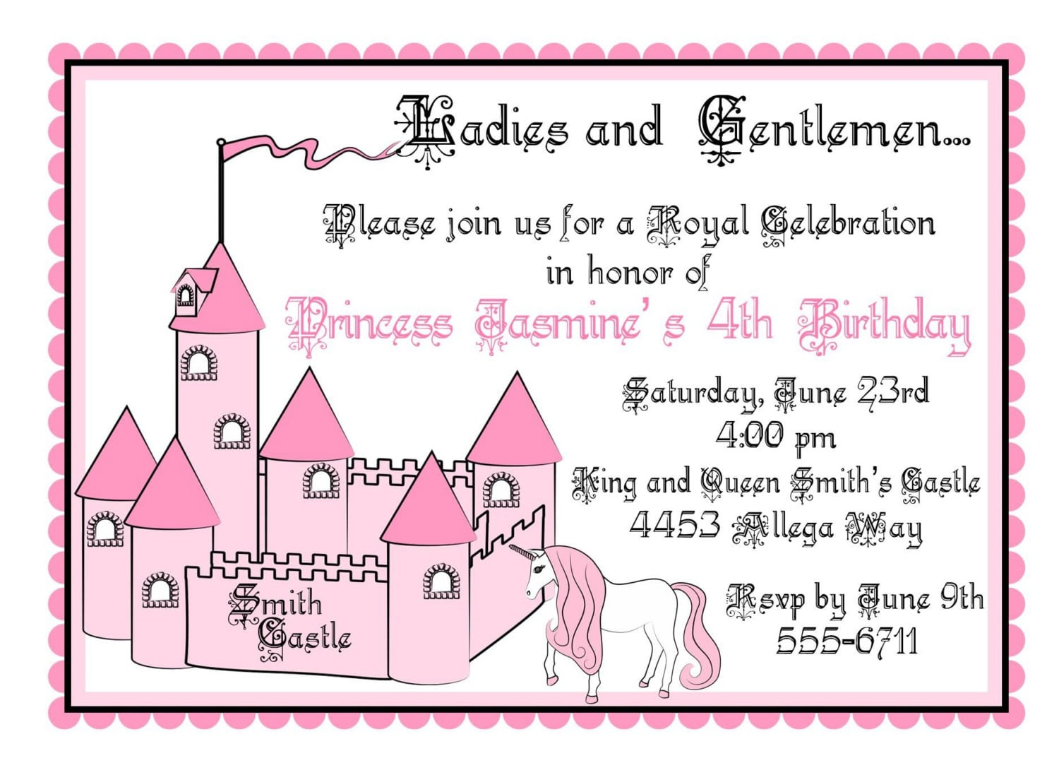 Lovely How To Make A Good Party Invitation At Inspirational