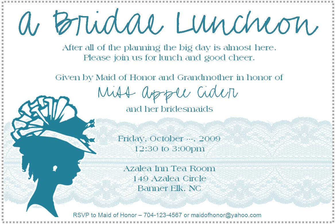 Lunch party invitation wordings funfndroid lunch party invitation wordings stopboris Choice Image