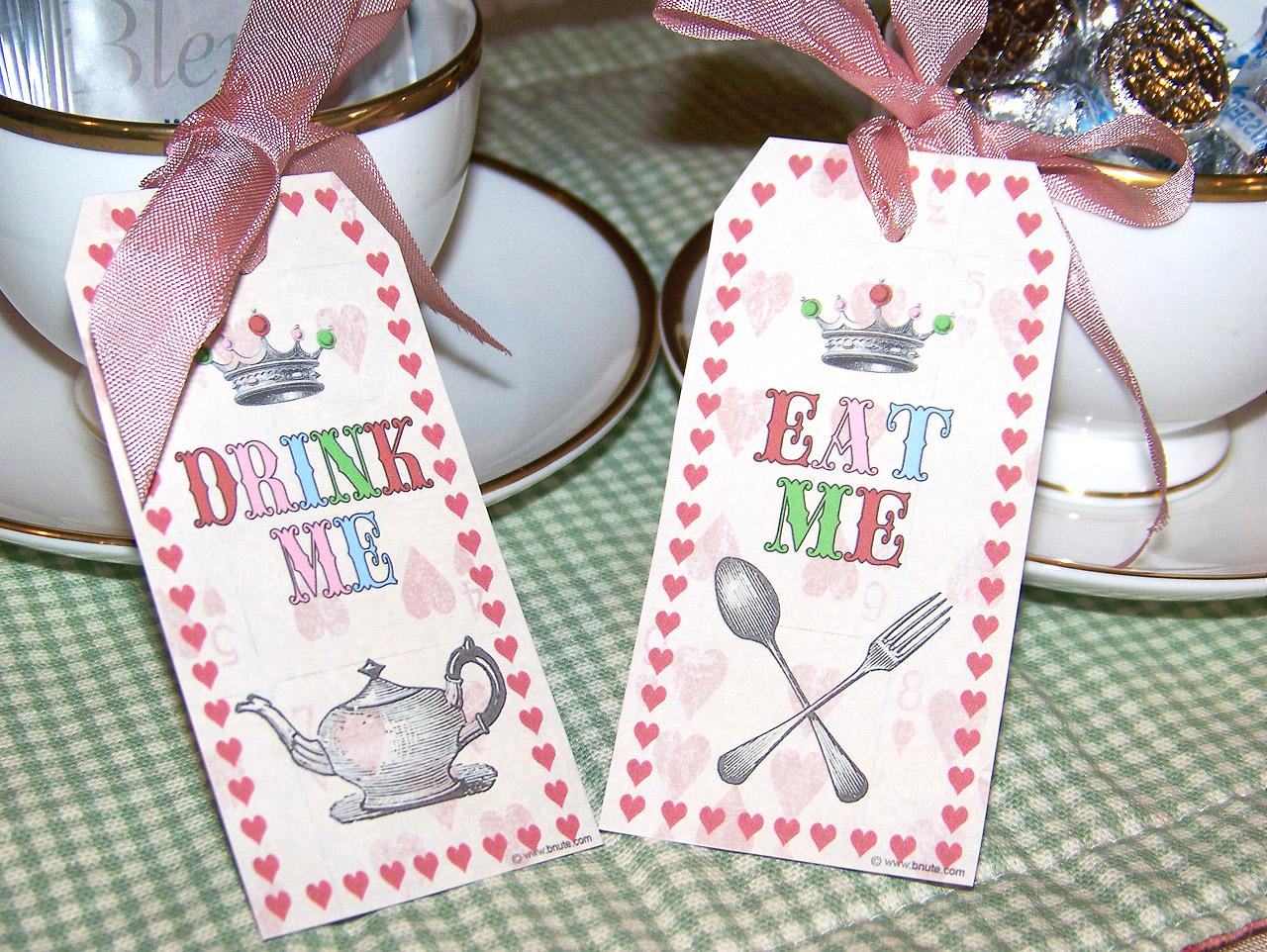 Mad Hatter Tea Party  Invitations, Decorations, Art Activites