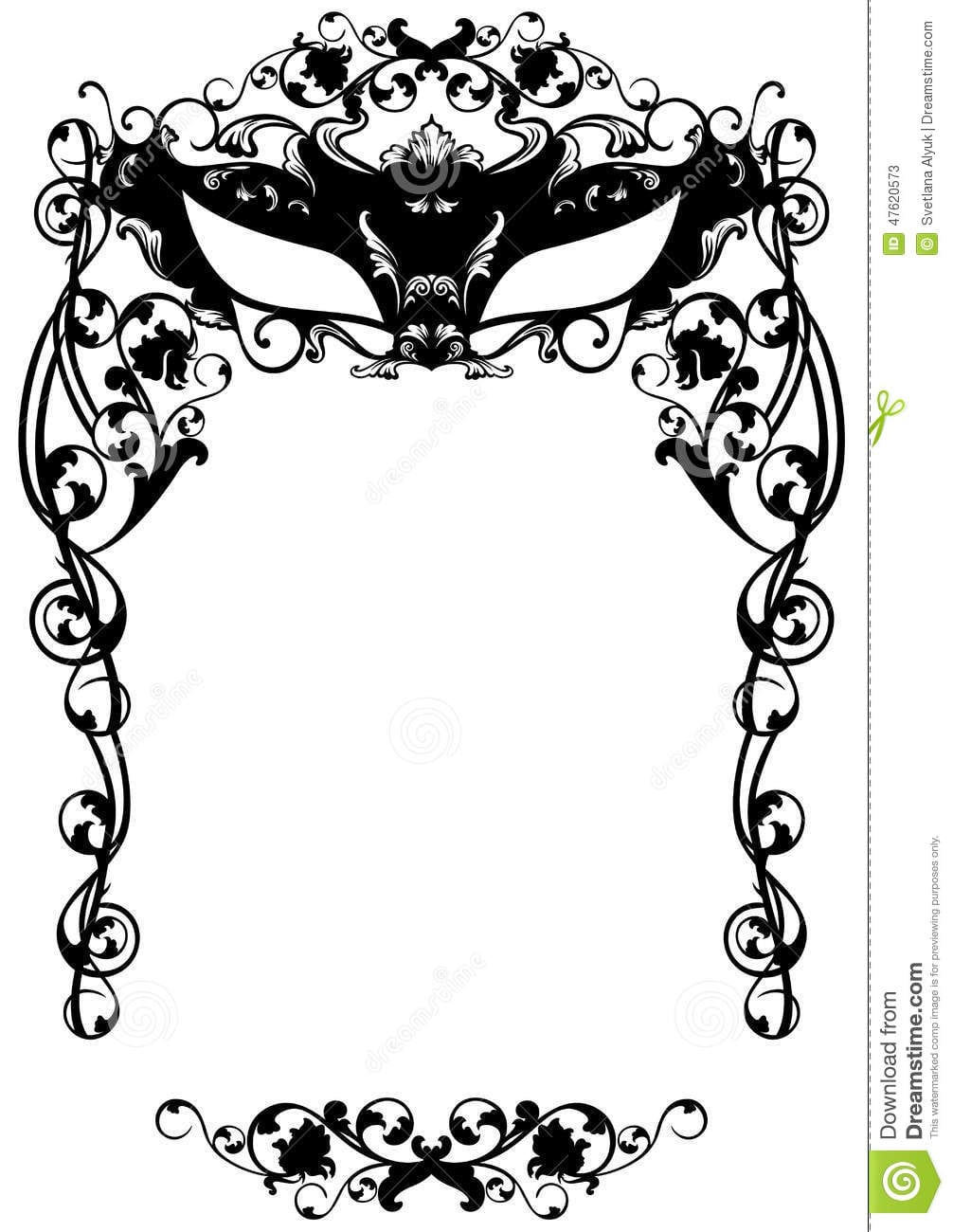 Masquerade Party Invitations - Mickey Mouse Invitations Templates