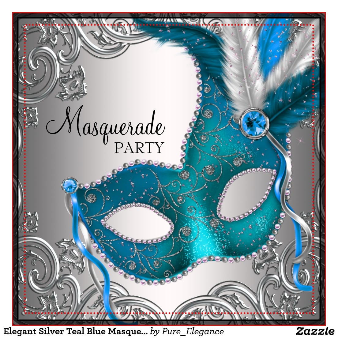 Masquerade Party Invitations