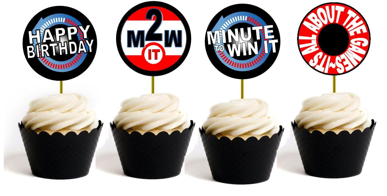 Minute To Win It Party Supplies, Printables, And Invitations!