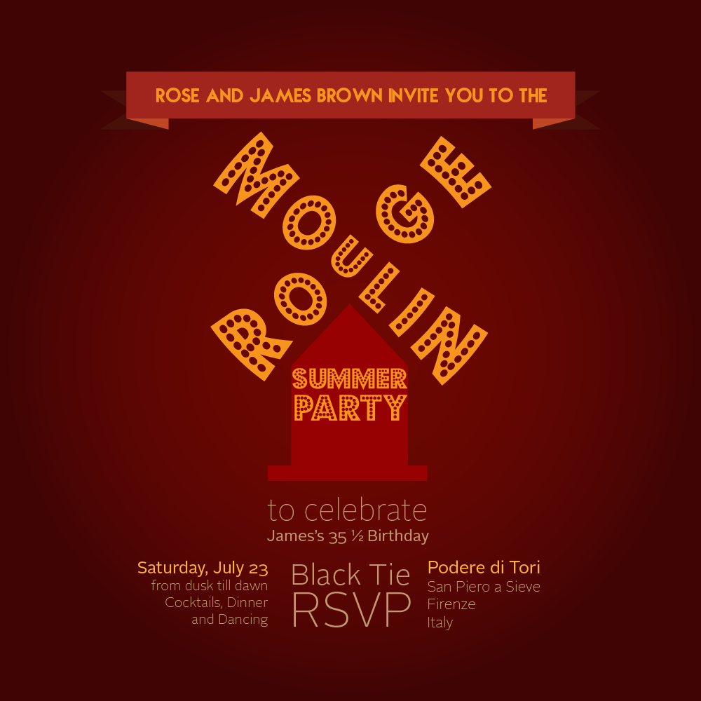 Moulin Rouge Party Invitations - Mickey Mouse Invitations Templates