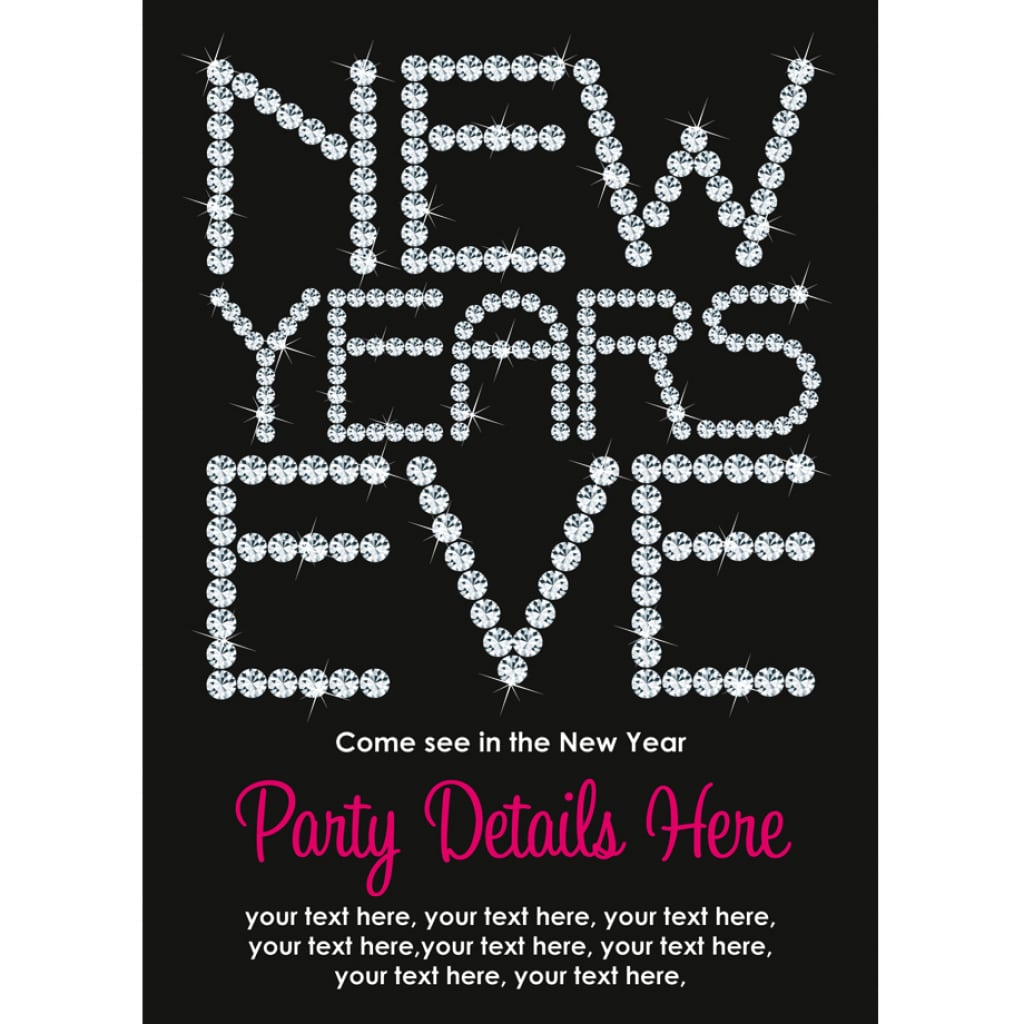 New Years Eve Party Invitation Ideas