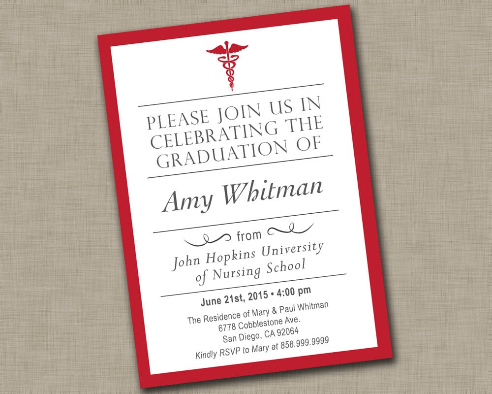 Nursing Invitation