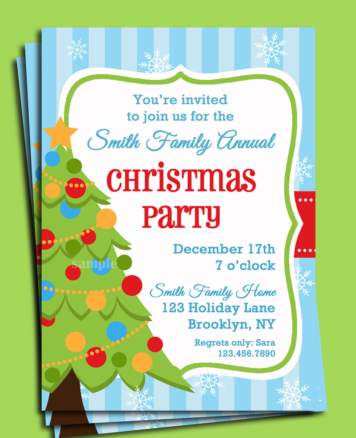 Office Christmas Party Invitation Wording Simple Office Christmas