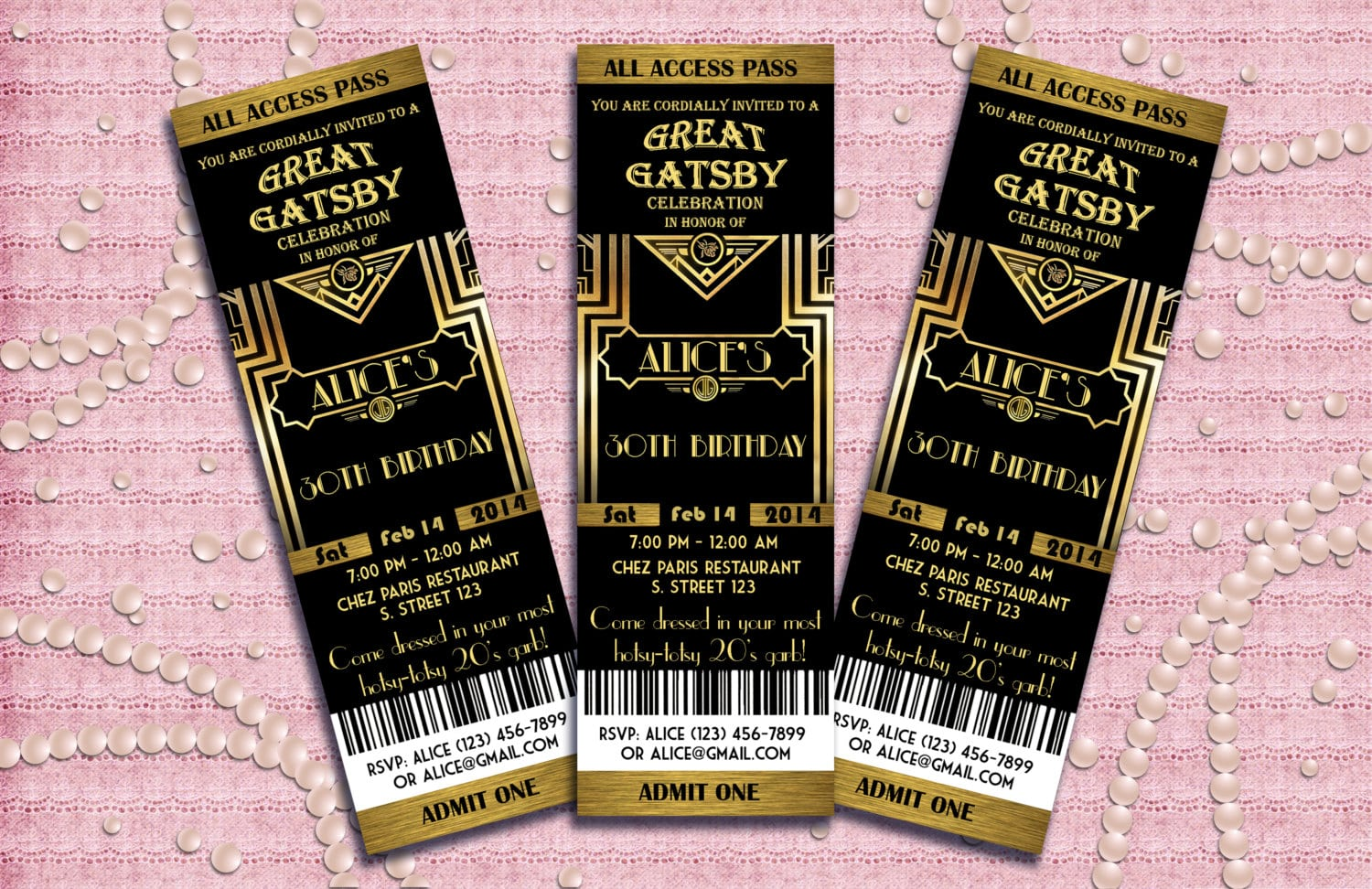 Outstanding The Great Gatsby Party Invitation 10 Indicates Newest