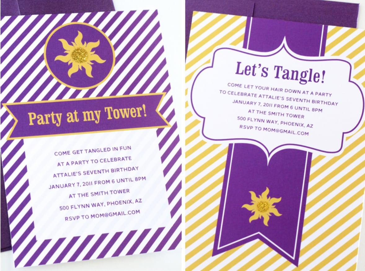 Party Invitation Design Ideas Inexpensive