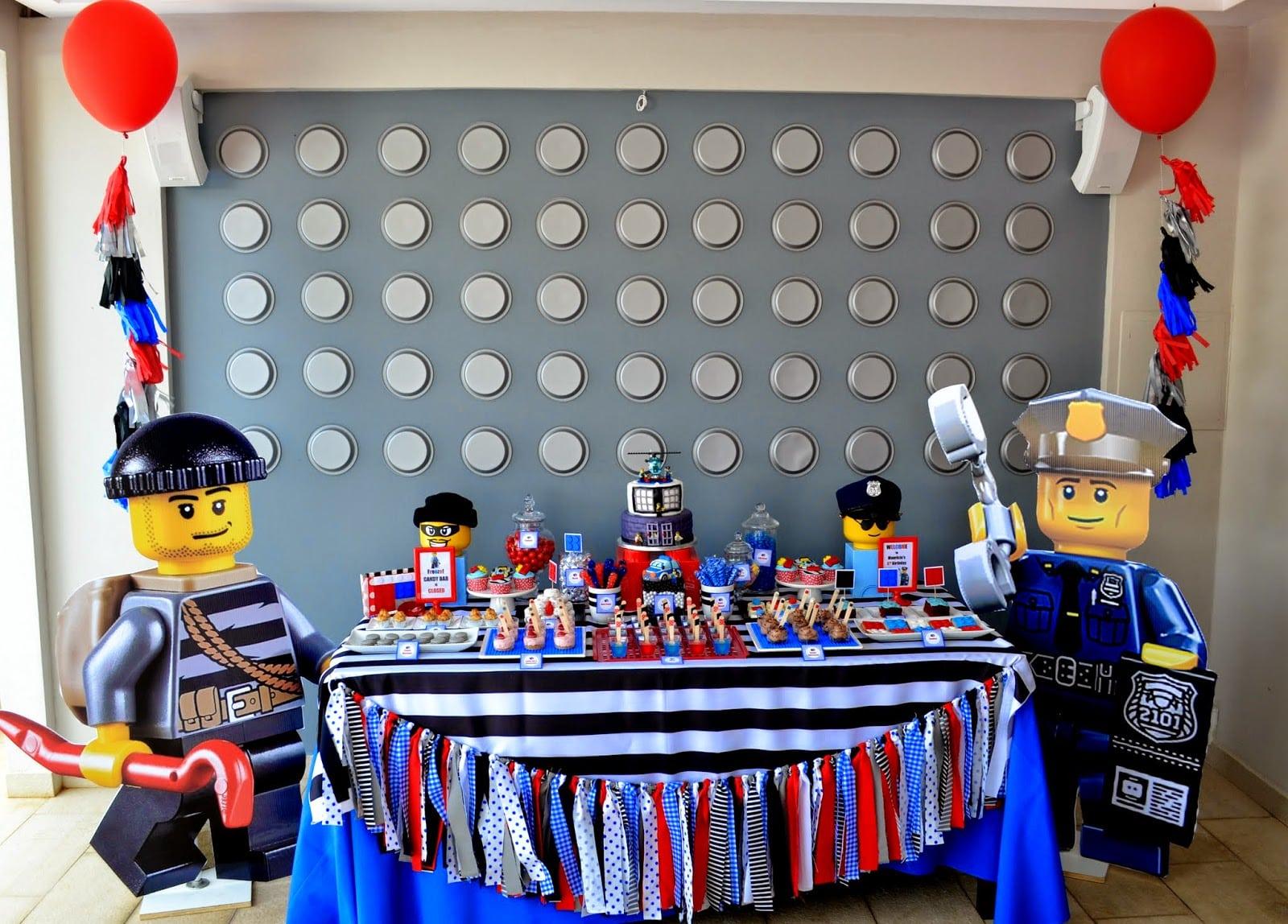 Partylicious  {lego City Police Birthday}