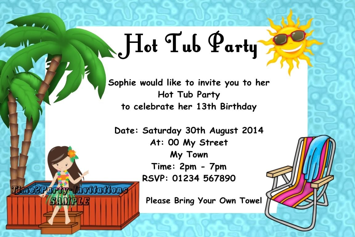 Personalised Party Invitations Uk