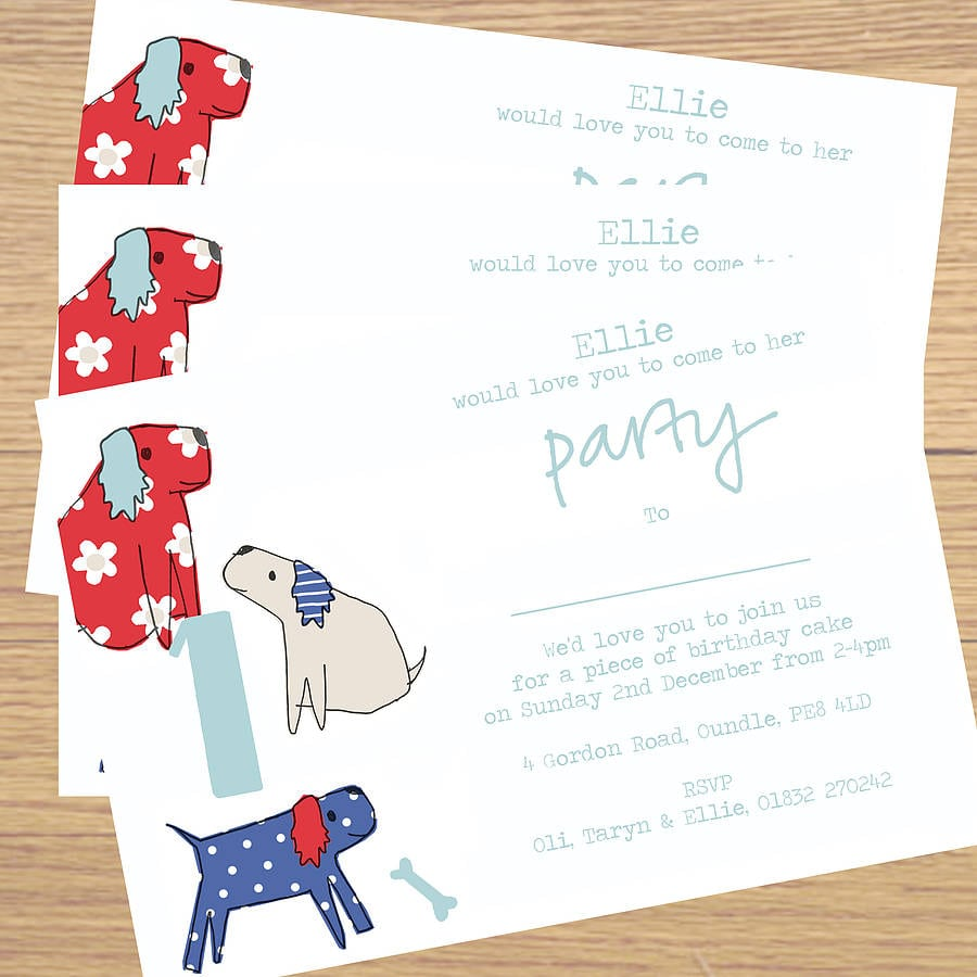 Personalized Party Invitations – Gangcraft Net