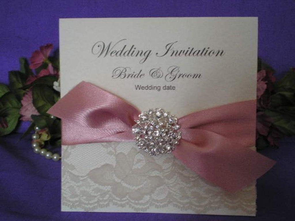 Pink Wedding Invitation Kits
