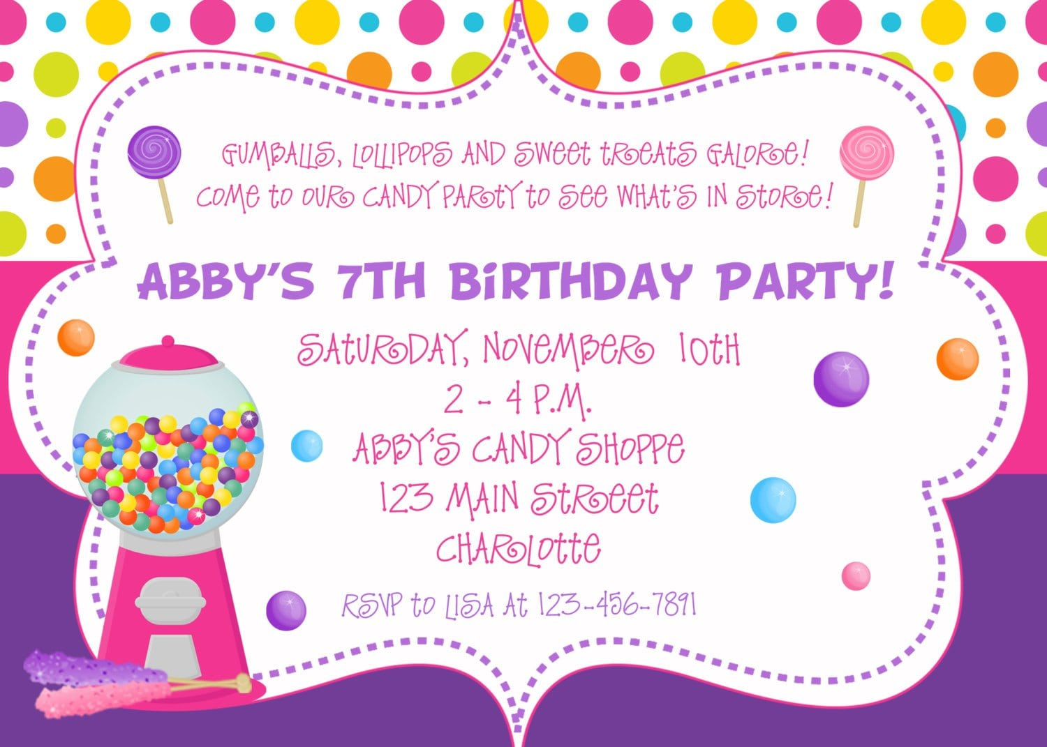 Pool Template  Birthday Party Invitation Letter Sample 1st