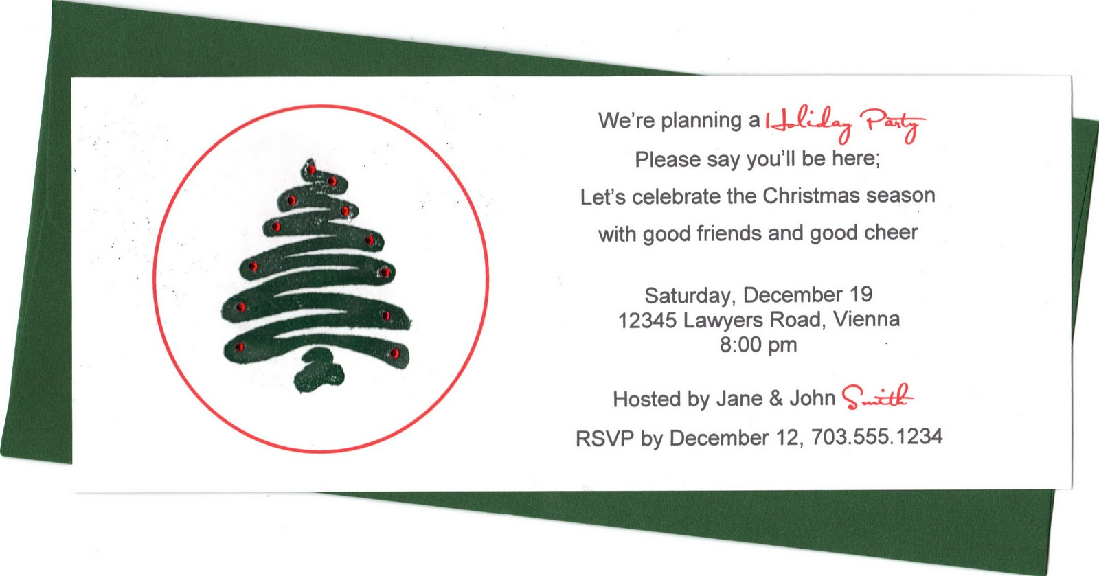 Posh In A Pinch  {holiday Party} 7 Invitation Wording Ideas