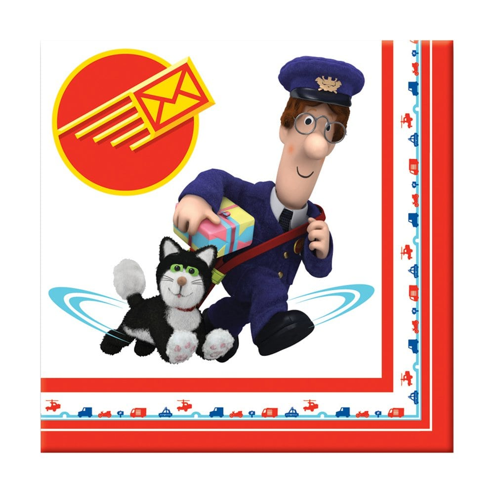 Postman Pat Luncheon Napkins