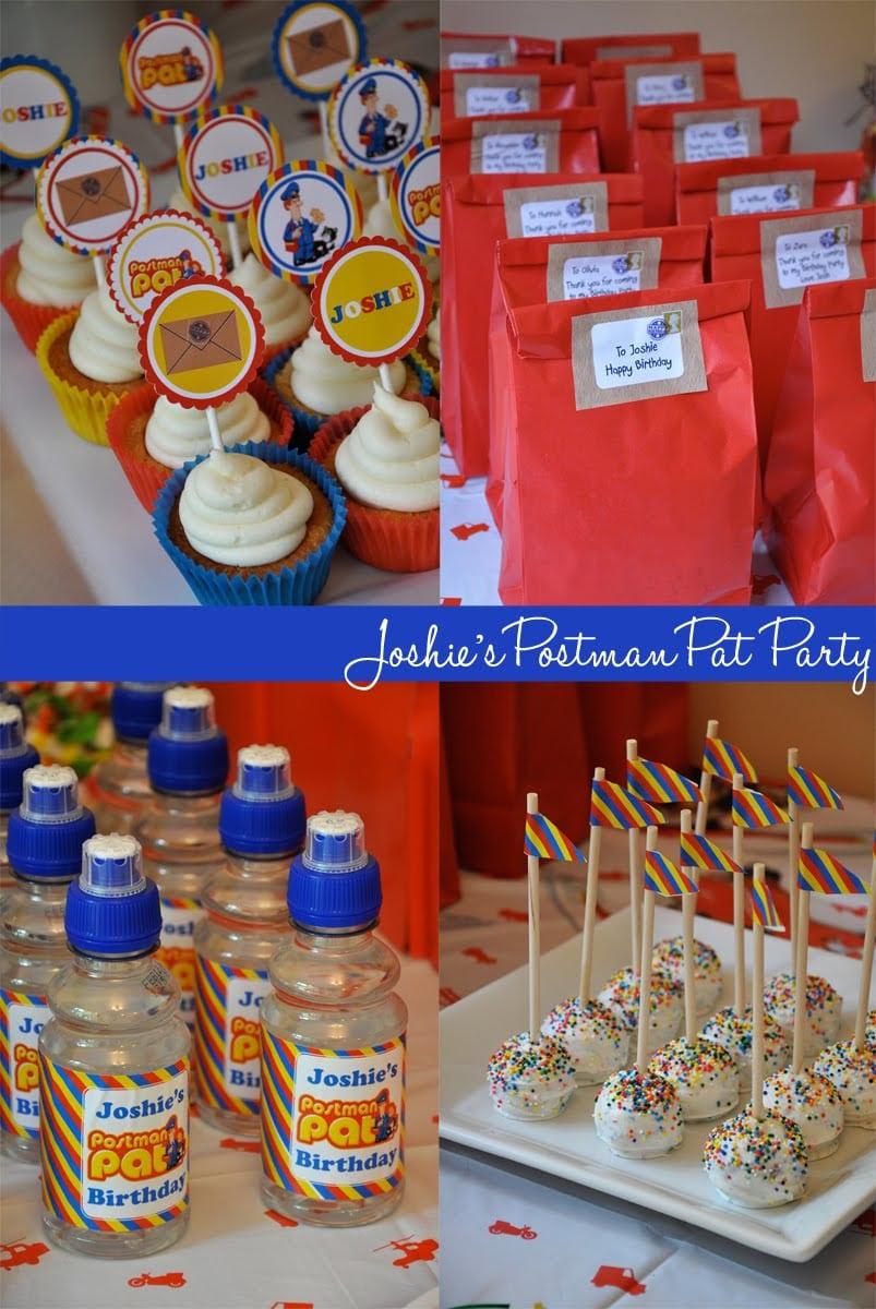 Postman Pat Party Invite