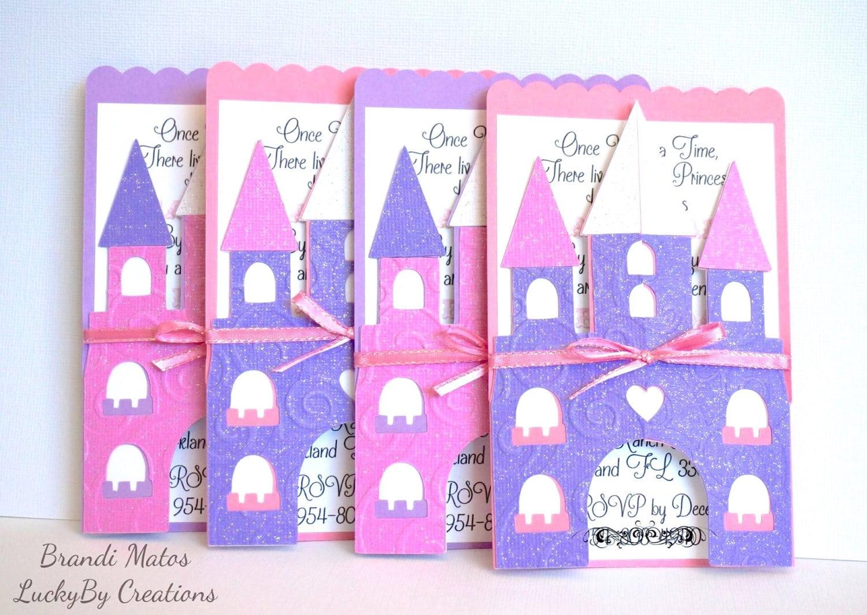 Princess Party Invitation, Princess Invitations, Princess Birthday