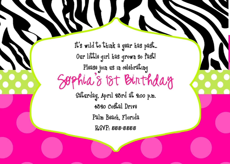 Print Party Invites