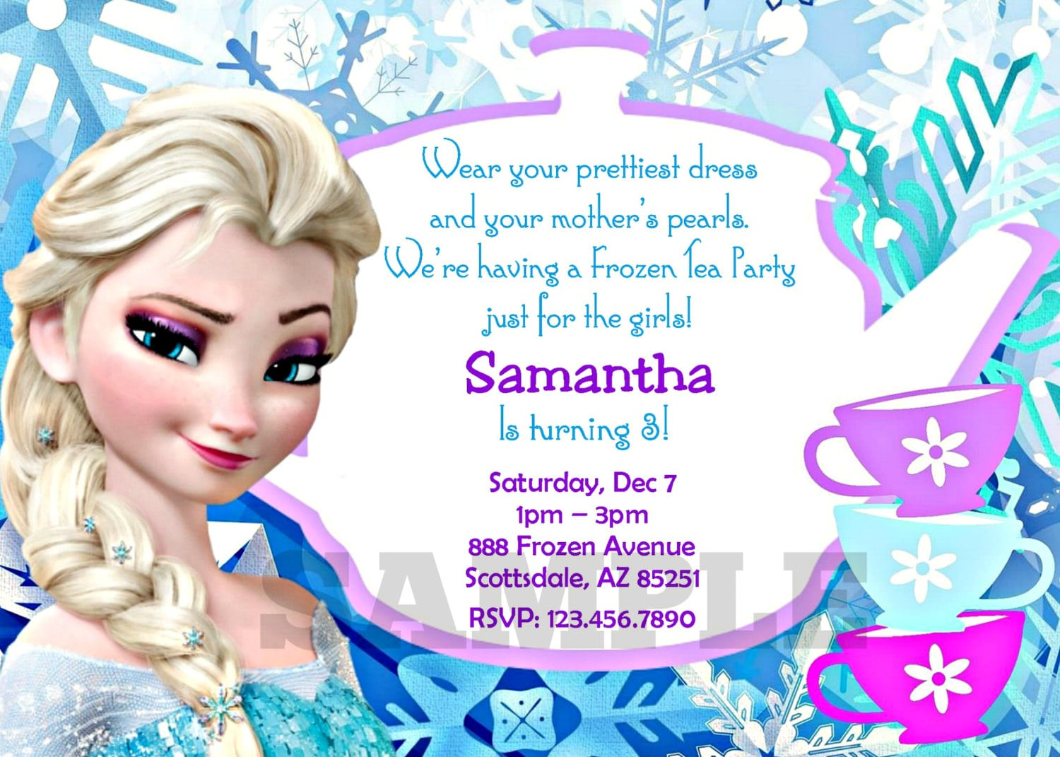 Printable Frozen Party Invitations Pictures About Printable Frozen