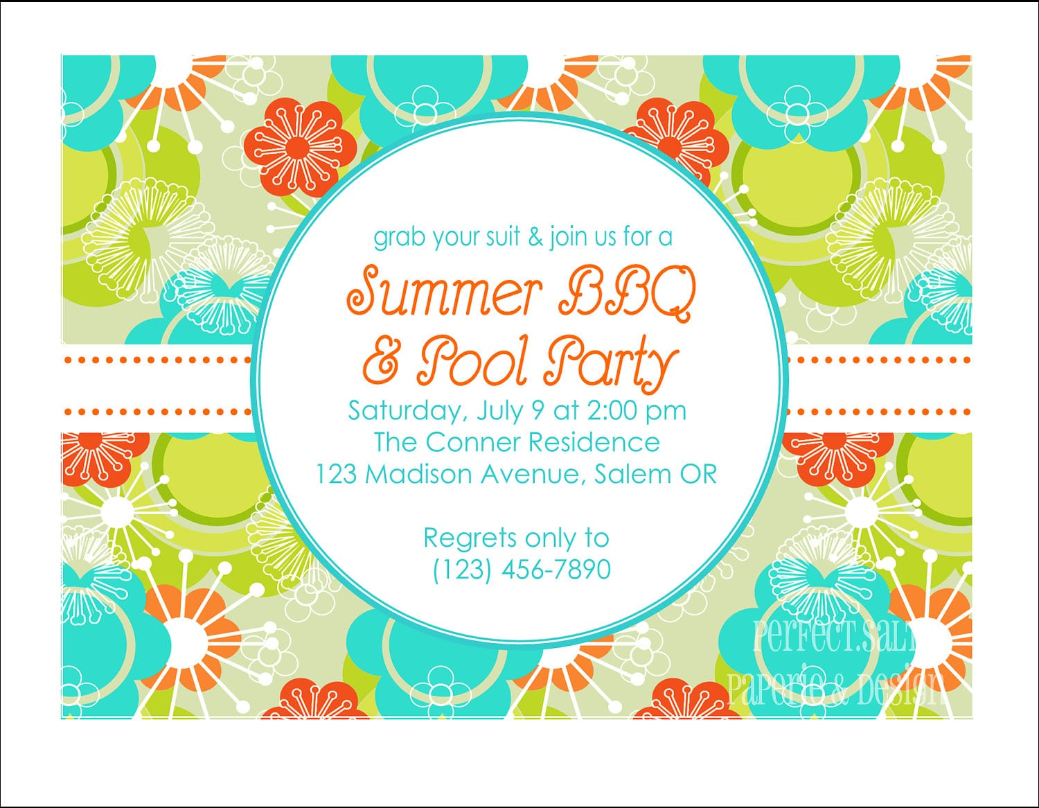Prosperity Reunion Party Invitation Templates  Edits Easily In