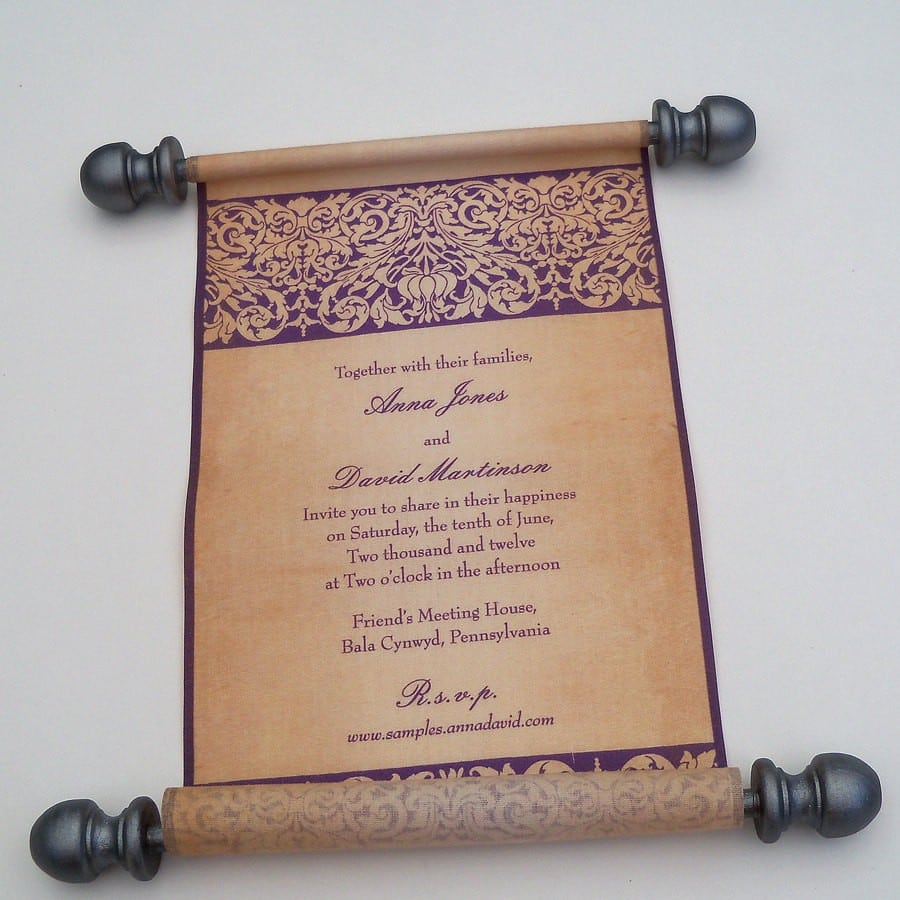 Renaissance Wedding Invitations