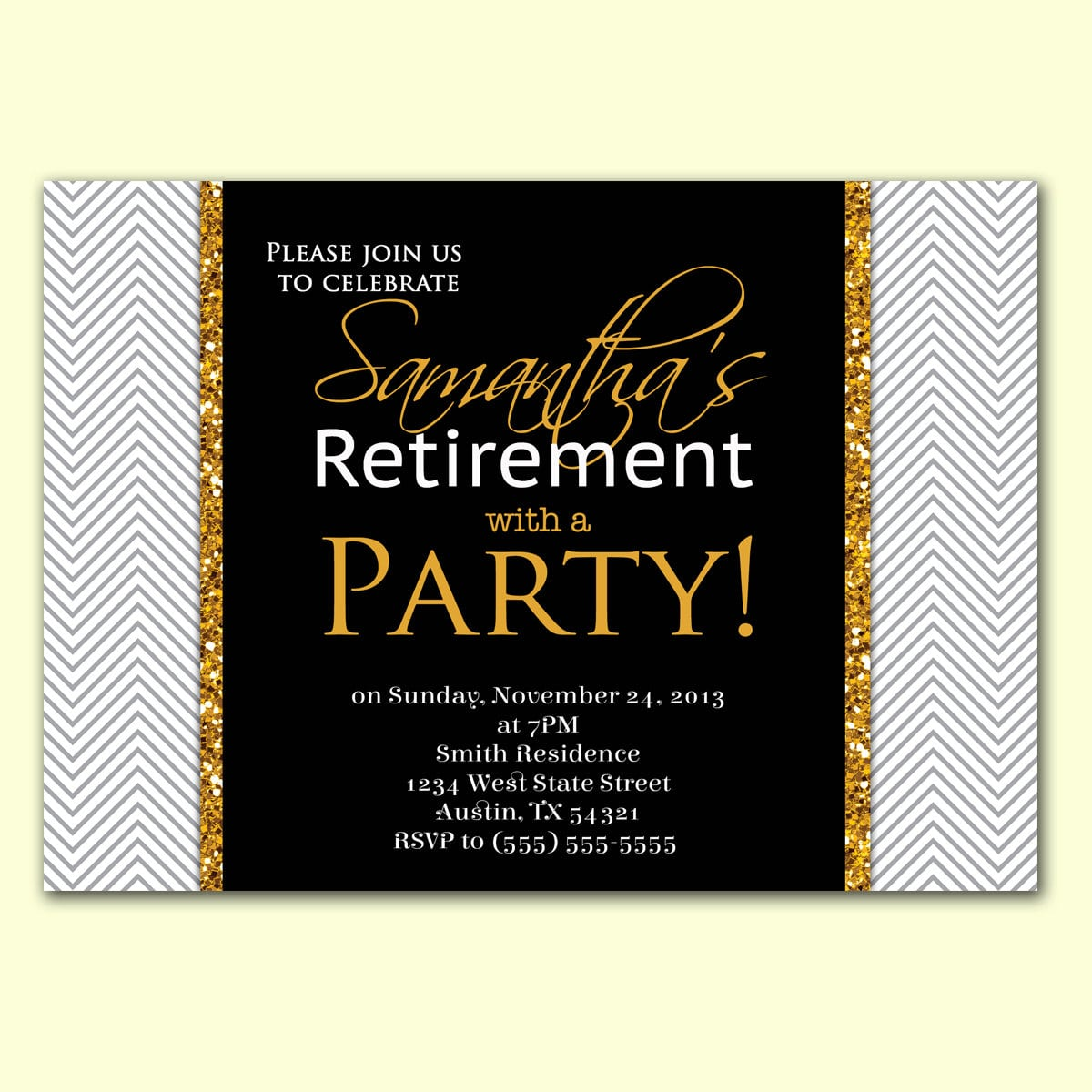 Retirement Party Email Invitation Templates