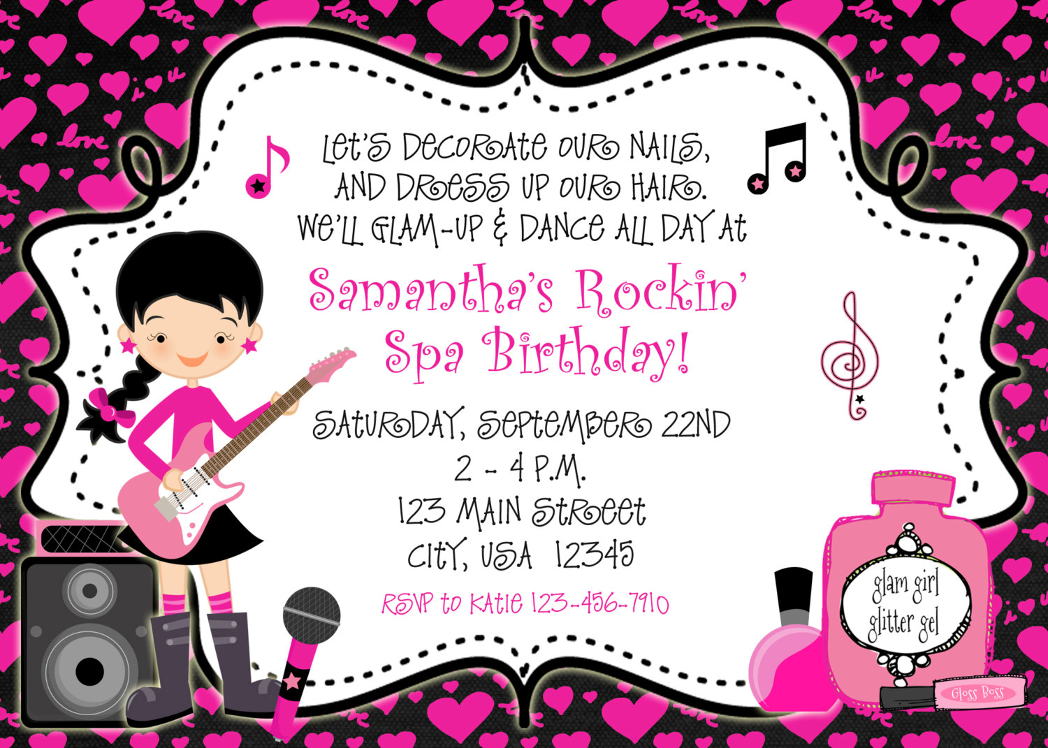 Invitation For Dance Party - Mickey Mouse Invitations Templates