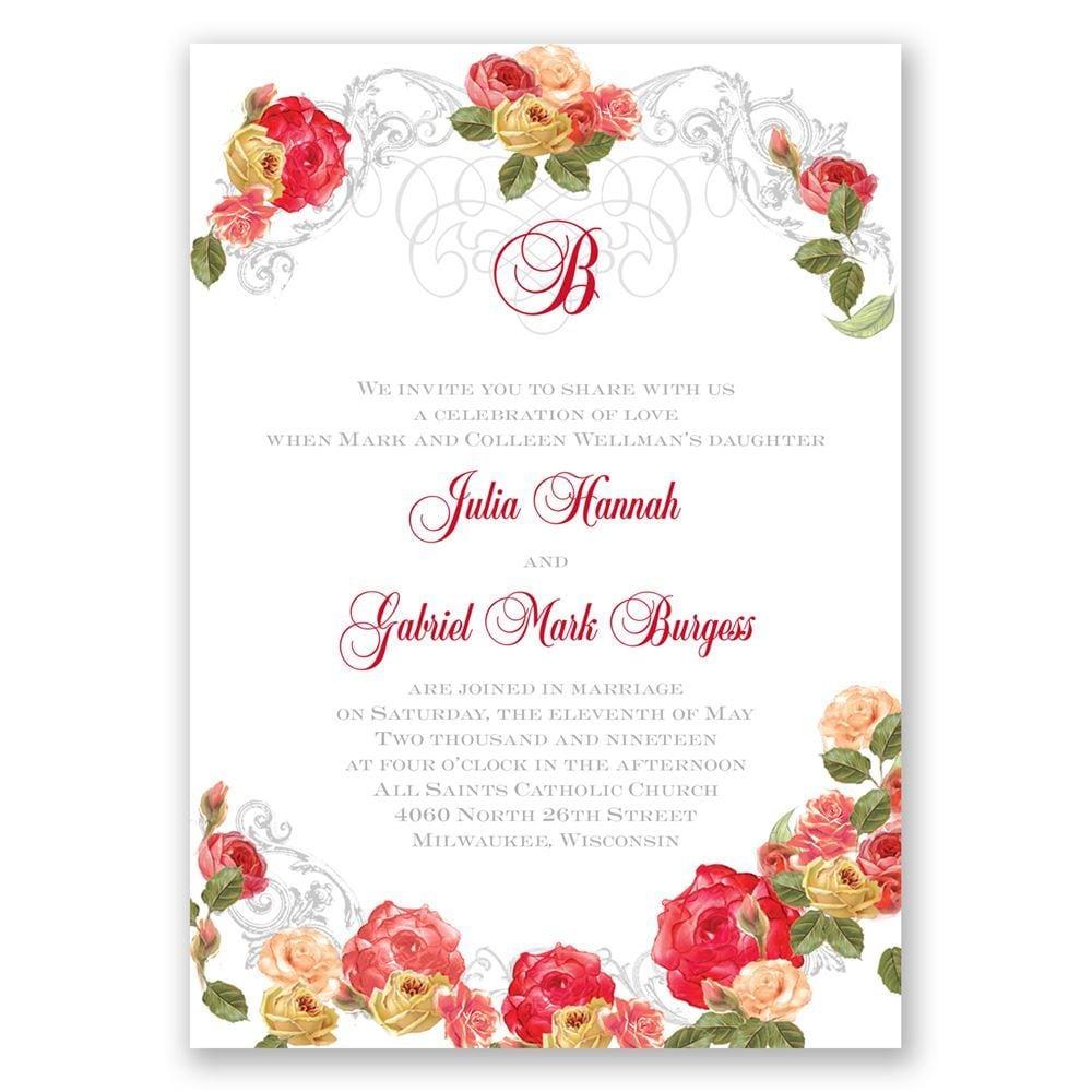 Royal Garden Invitation