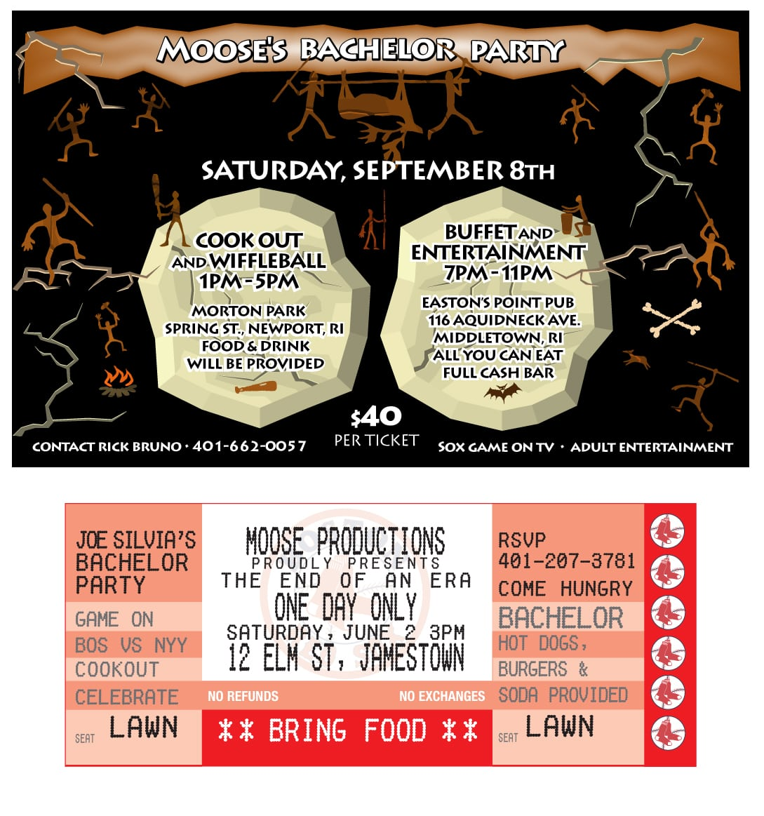 Bachelor Party Invitation Email - Mickey Mouse Invitations Templates