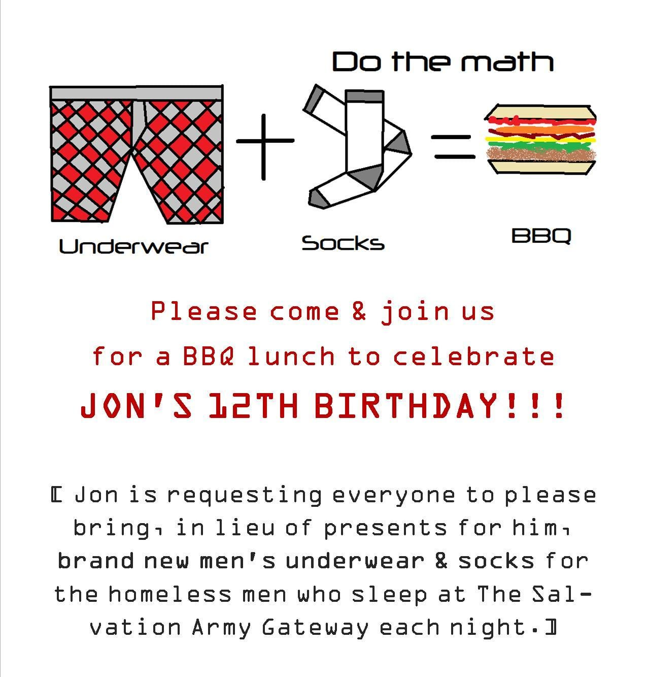 Sample Invitation Birthday Party Letter  Invitation Letter Sample