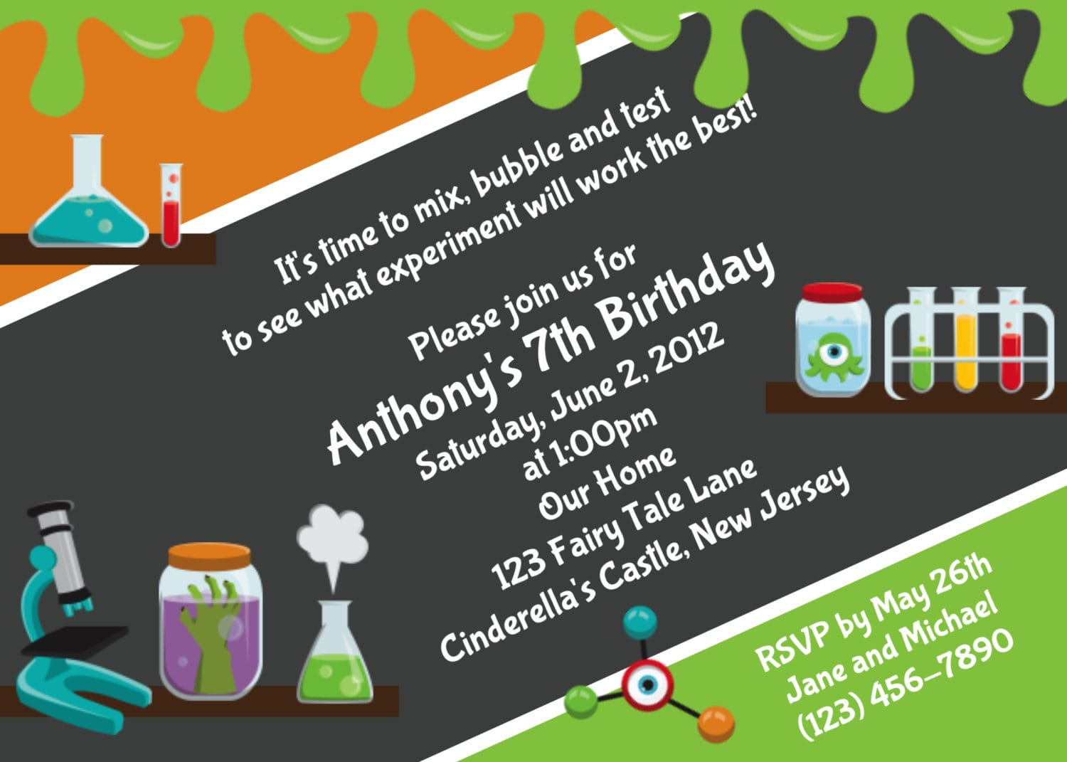 Mad science party games ideas invitations and party supplies linkedscience party ideas mad lab science partykaras party ideas science themed birthday partykaras party ideas mad hatter tea partyscience party ideas filmwisefo
