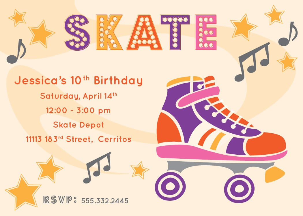 skating party invitation template mickey mouse invitations skate party invitation template ice skating birthday party party