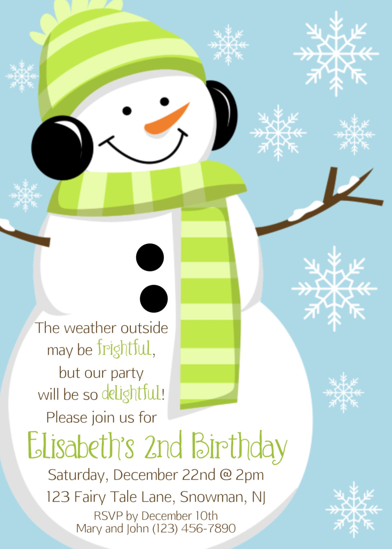 Dorable Sledding Party Invitations Inspiration Invitation Card