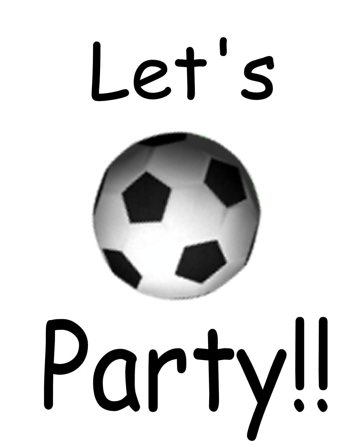 soccer party invitations templates - Gotta.yotti.co