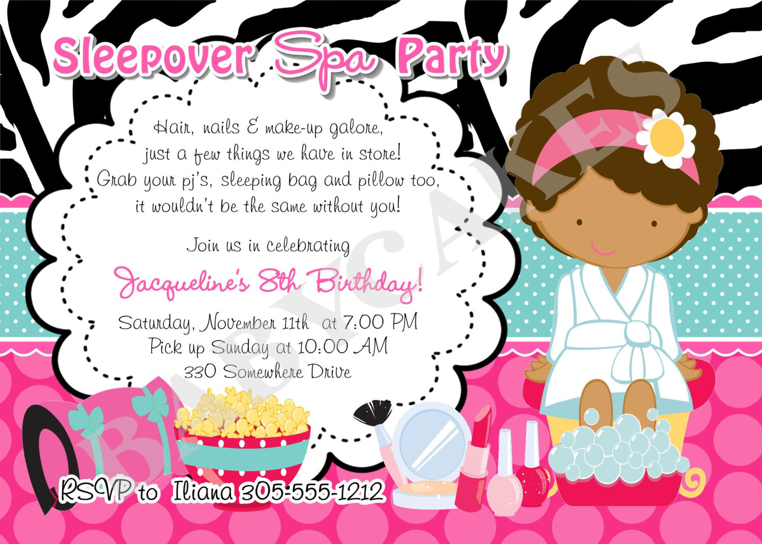 Sleepover birthday party invitations free printable etamemibawa sleepover birthday party invitations free printable filmwisefo Image collections