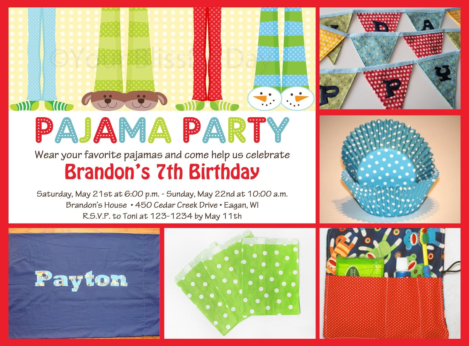 Splendid Pajama Party Invitations Wording Features Party Dress