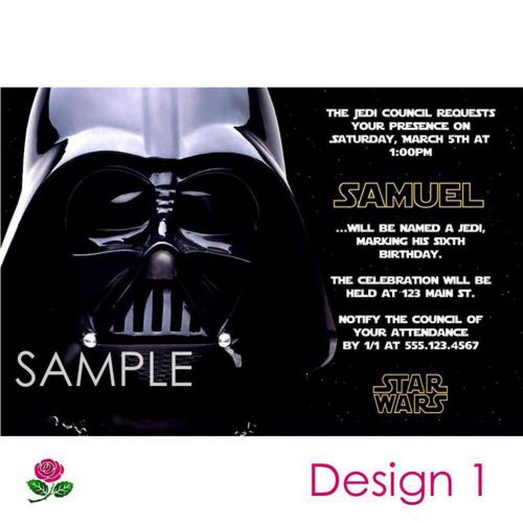 Star Wars Party Invitations Free Printable 5