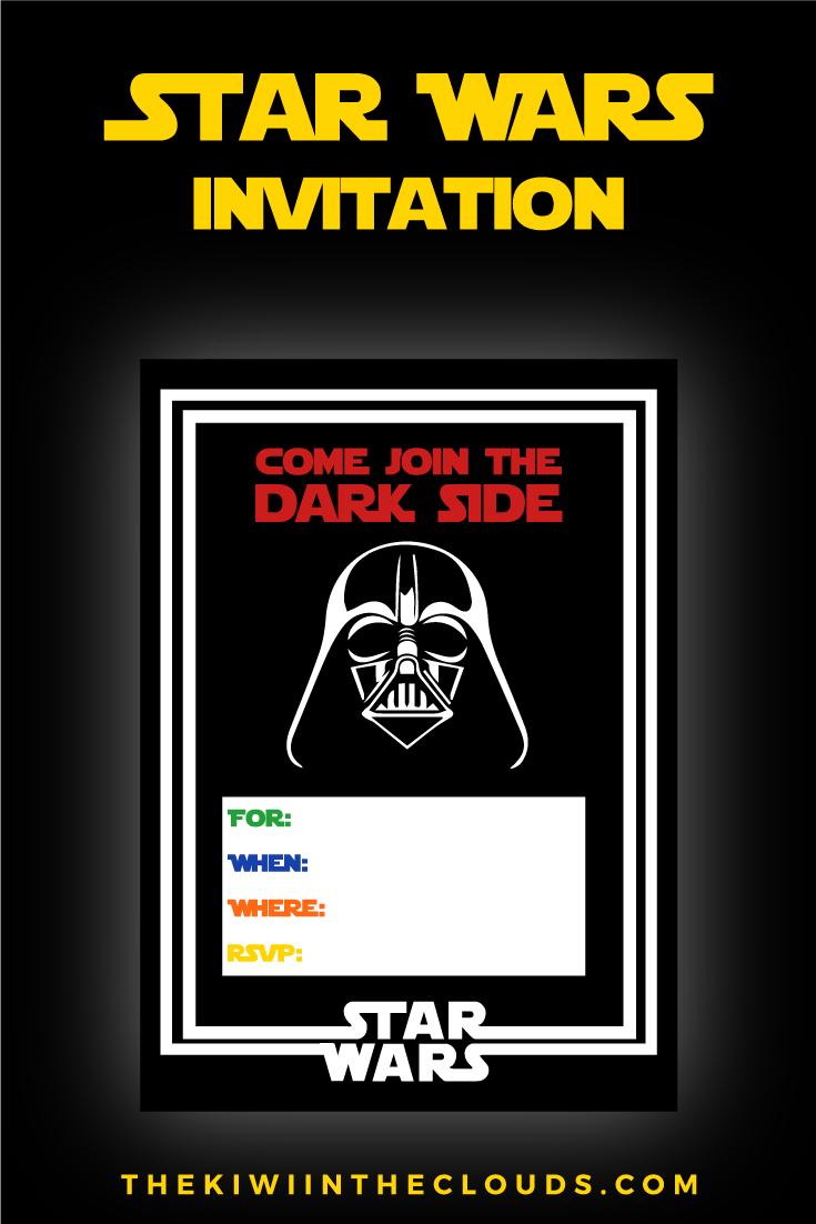 Star Wars Party Printables  A No