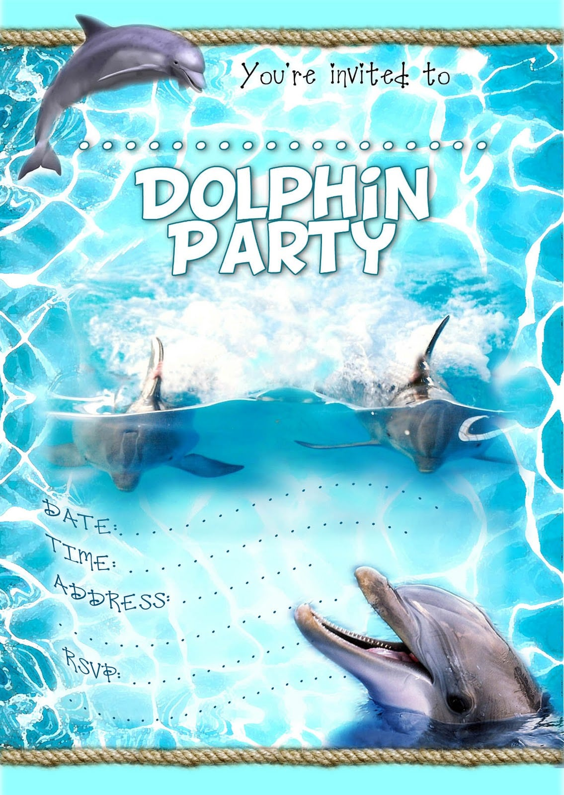 Striking Pool Party Invitation Template Word Kids Party
