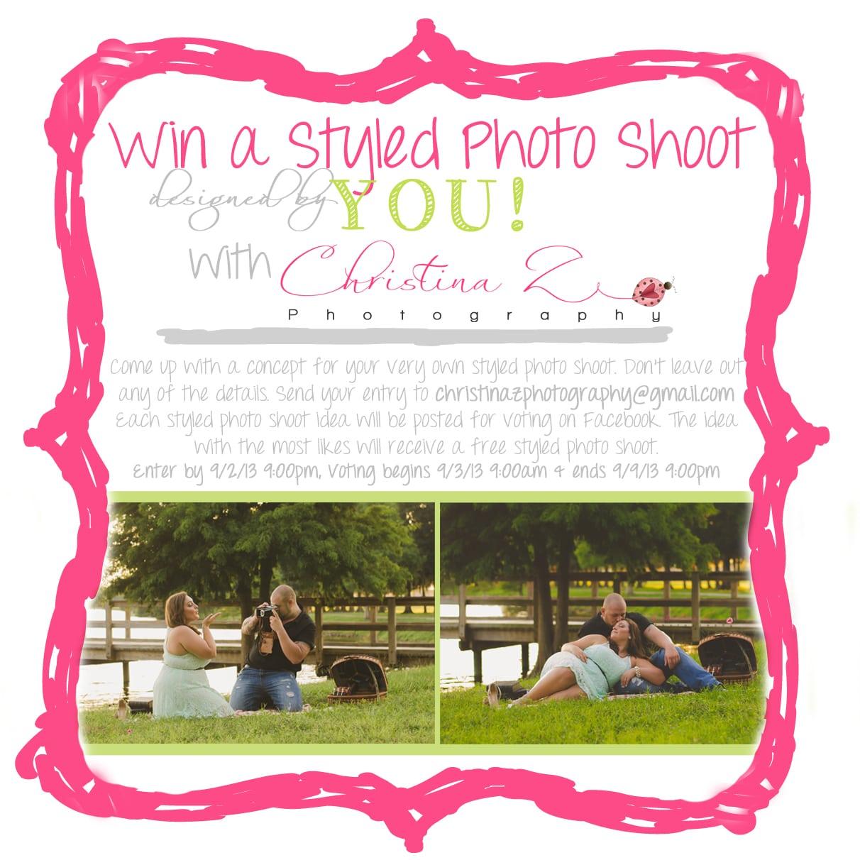 Photoshoot Party Invitations