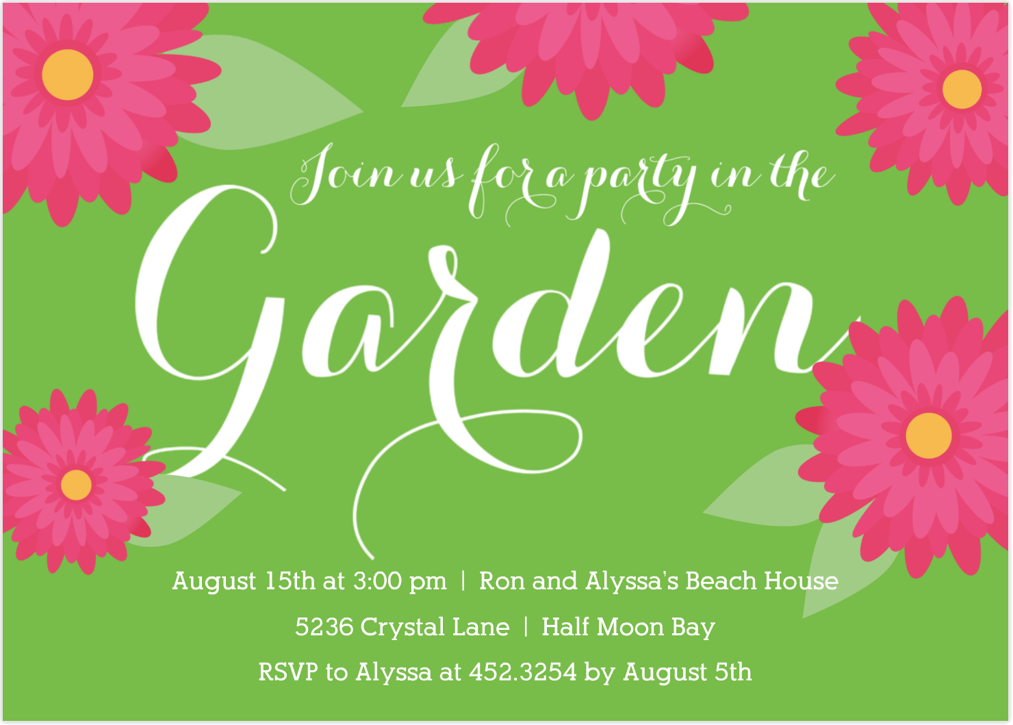 garden party invitation ideas - Romeo.landinez.co