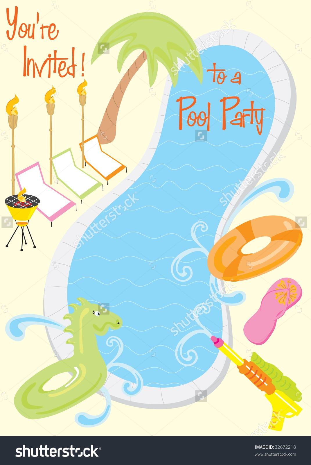 Invitation Letter For Pool Party Choice Image - Invitation Sample ...