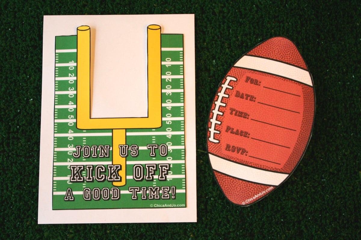 Super Bowl Party Invitation Template