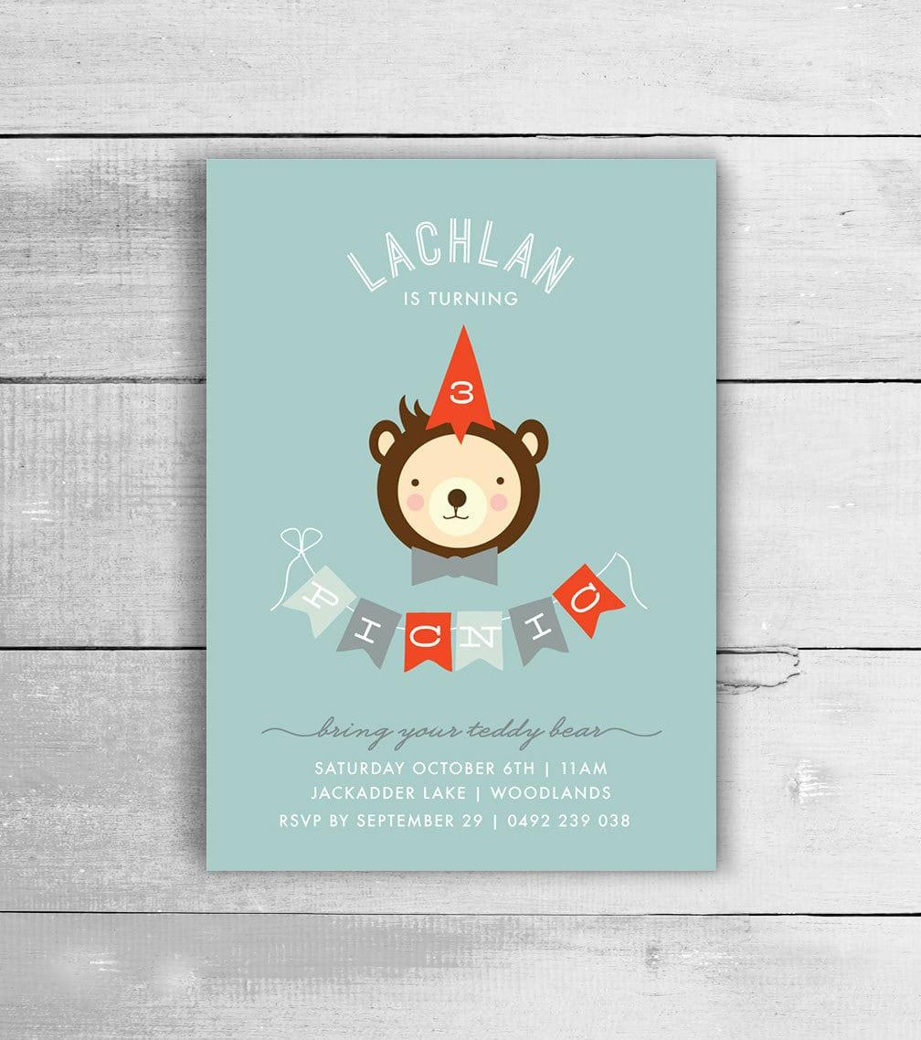 Teddy Bear Invite