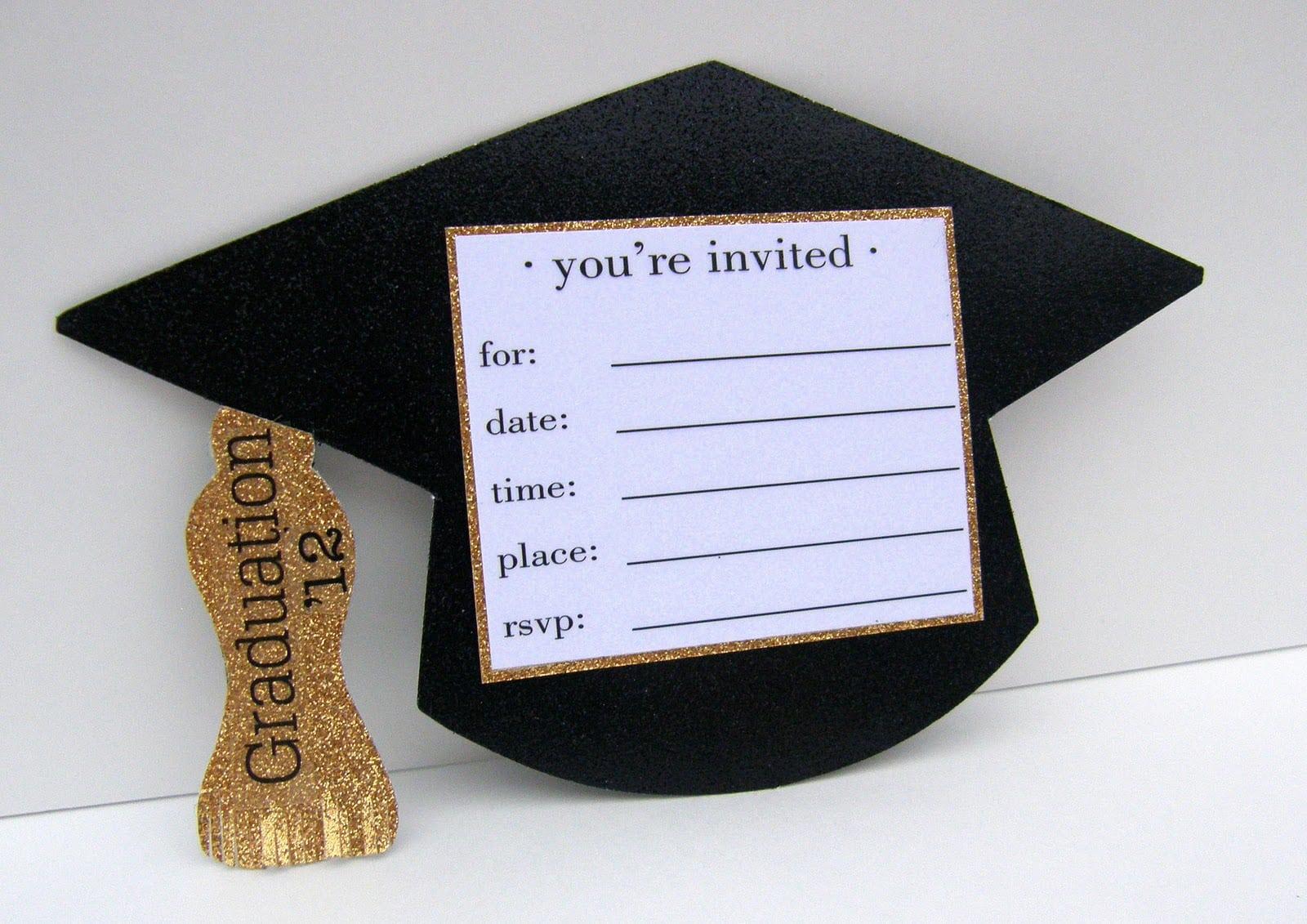 Templates Diy Graduation Invitation Kits Diy Graduation