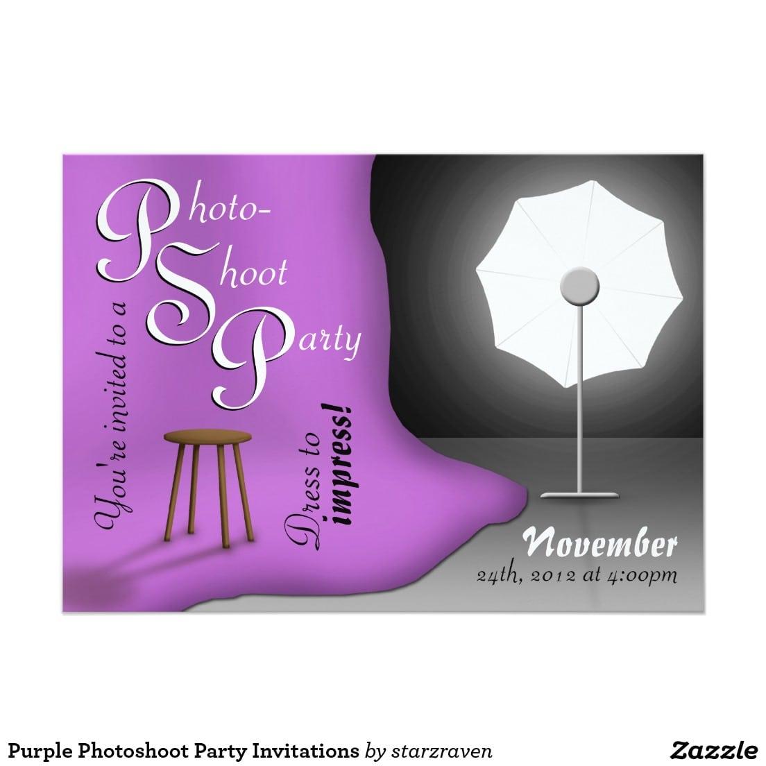 Photoshoot Party Invitations - Mickey Mouse Invitations Templates