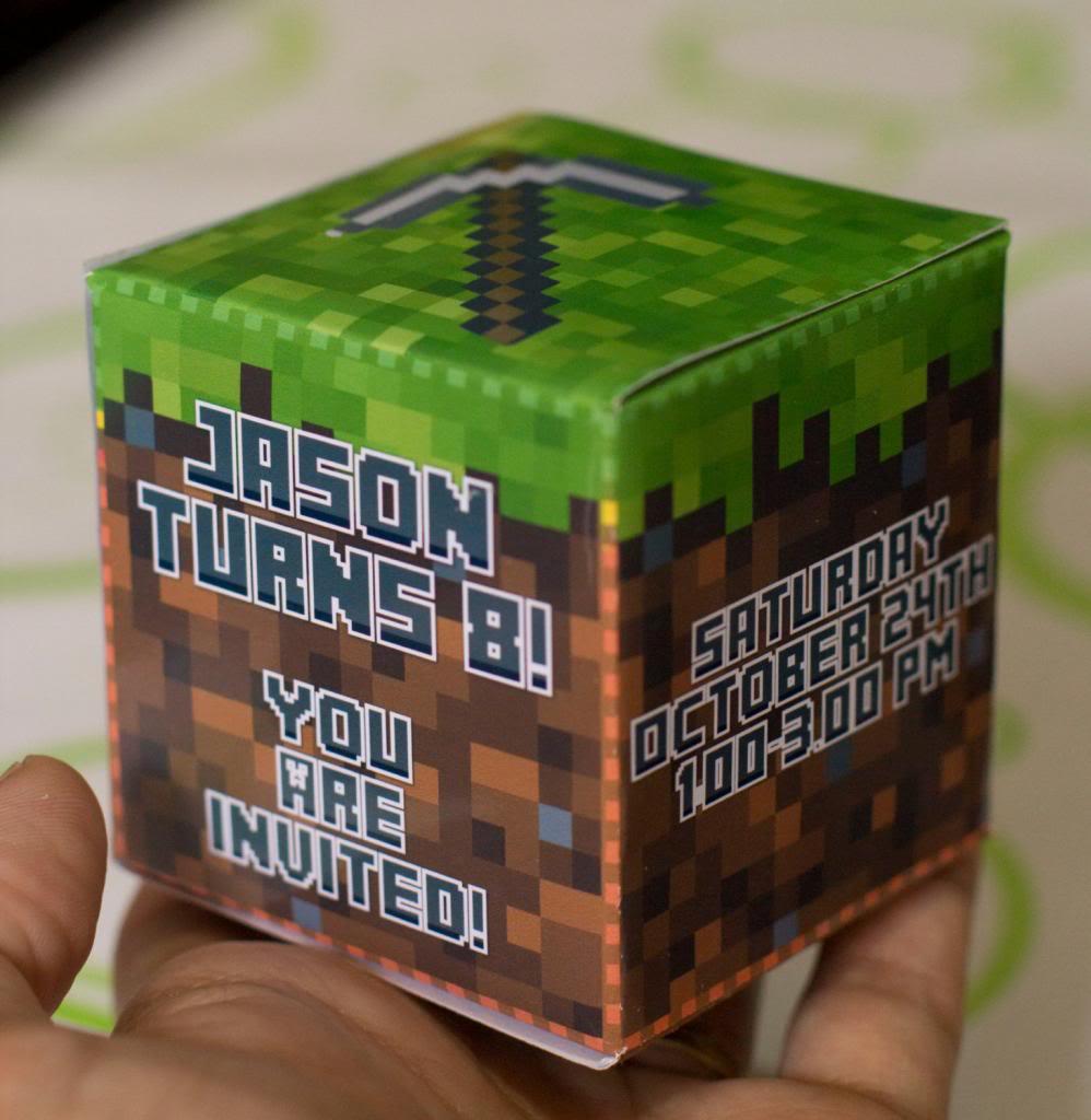 The Best Minecraft Birthday Party Ideas (besides Just Sitting
