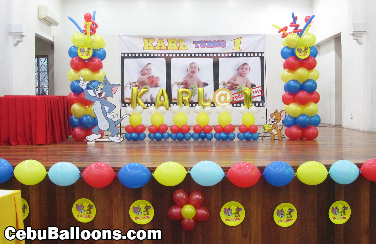 Tom And Jerry Birthday Party Supplies